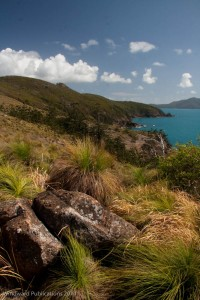 The walk to South East Head, Hamilton Island