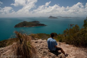 View from Passage Peak, Hamilton Island