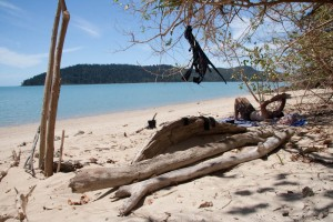 Recovering at Dugong Beach